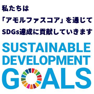 私たちは 「アモルファスコア」 を通じて SDGs達成に貢献していきます
